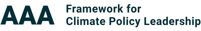 AAA Framework for Climate Policy Leadership